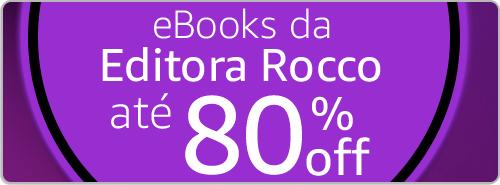eBooks da Editora Rocco até 80% off