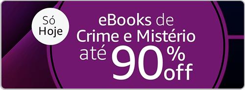 eBooks de Crime e Mistério até 90% off
