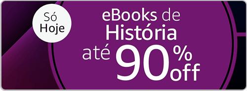 eBooks de História até 90% off