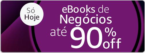eBooks de Negócios até 90% off