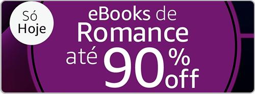 eBooks de Romance até 90% off