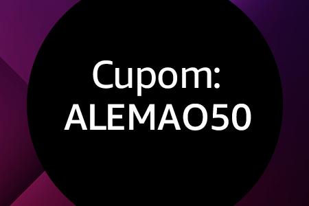 Cupom ALEMAO50