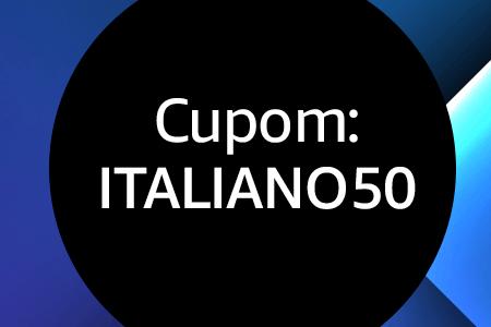 Cupom ITALIANO50