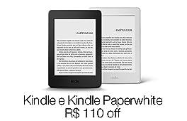 Kindle e Kindle Paperwhite com R$110 off