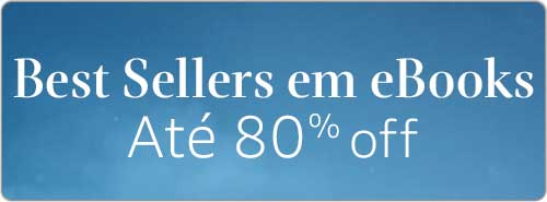 Best Sellers em eBooks até 80% off