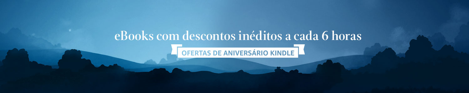 eBooks com descontos inéditos a cada 6h