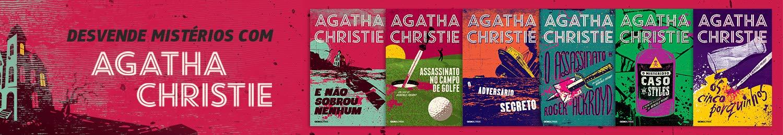 Desvende mistérios com Agatha Christie