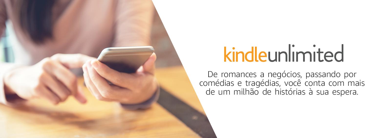 Kindle Unlimited: de romances a negócios, passando por comédias e tragédias, você conta com mais de um milhão de histórias à sua espera.