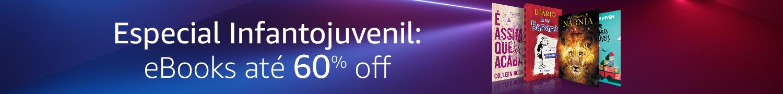 Especial Infantojuvenil: eBooks até 60% off