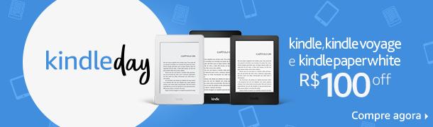 Kindle, Kindle Voyage e Kindle Paper White com R$100 off