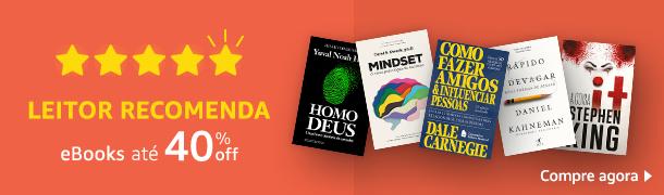 Leitor Recomenda eBooks até 40%off