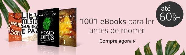 1001 eBooks para ler antes de morrer até 60% off