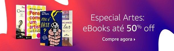 Especial Artes: eBooks até 50% off