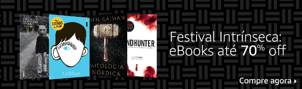 Festival Intrínseca: eBooks até 70% off