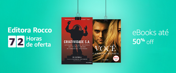 Editora Rocco: 72h de oferta. eBooks até 50% off.