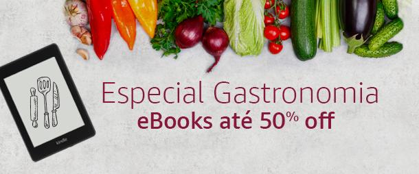 Especial Gastronomia: eBooks até 50% off