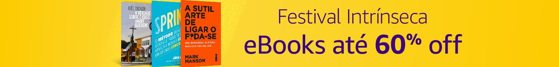 Festival Intrínseca: eBooks até 60% off
