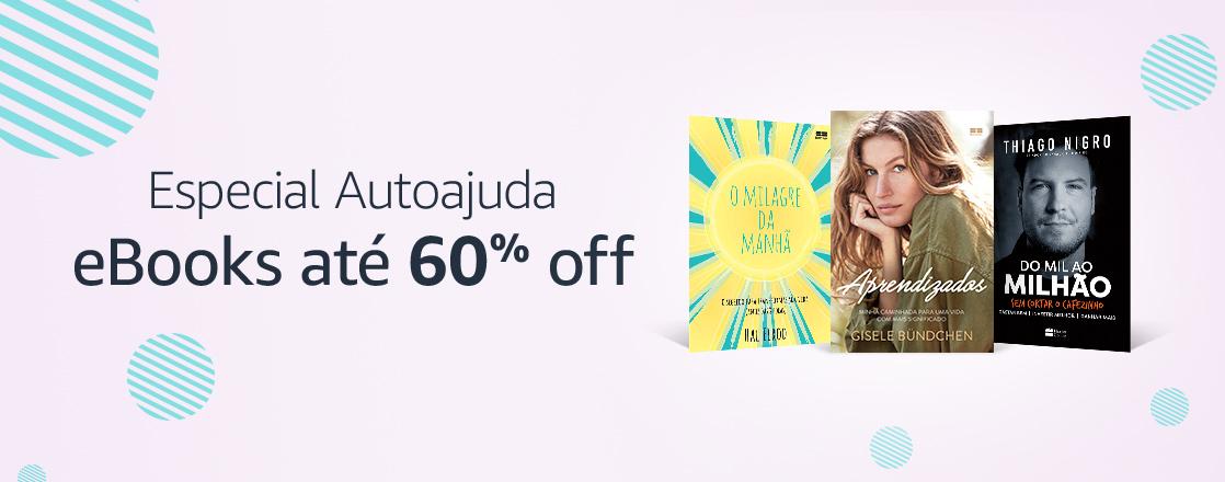 Especial Autoajuda: eBooks até 60% off