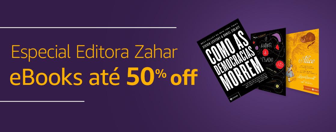 Especial Editora Zahar: eBooks até 50% off