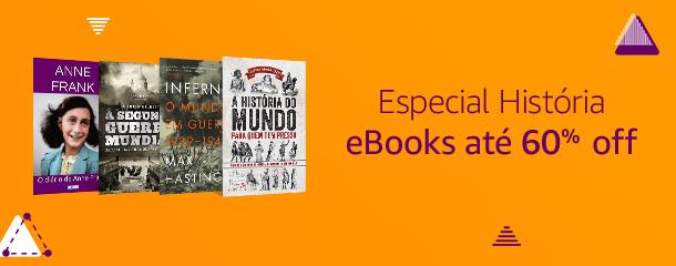 Especial História: eBooks até 60% off