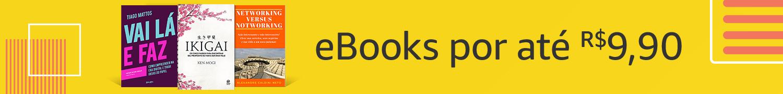 eBooks por até R$9,90