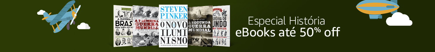 eBooks até 60% off no Especial Grandes Autores