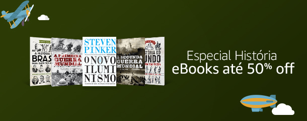 Especial História - eBooks até 50% off