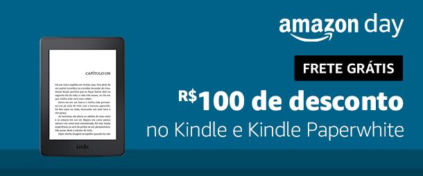 R$100 de desconto no Kindle e Kindle Paperwhite