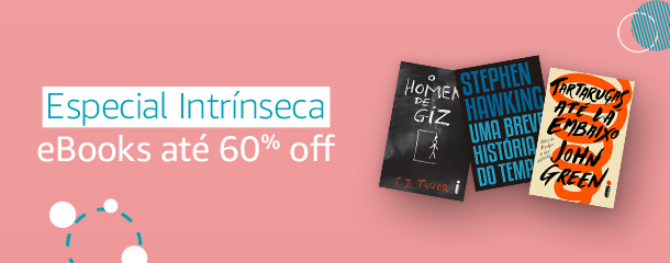 Especial Intrínseca: eBooks até 60% offn Day