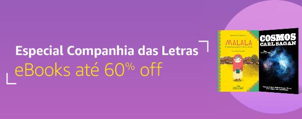 Especial Cia das Letras: eBooks até 60% off