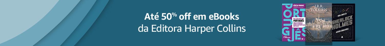 Harper Collins até 50% off