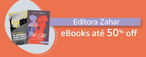 Até 50% off em eBooks da Editora Zahar