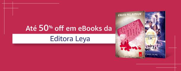 Até 50% off em eBooks da Editora Leya