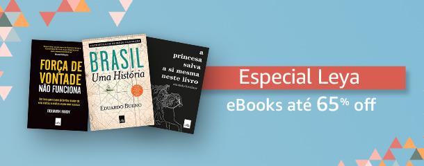 Especial Leya: eBooks até 65% off