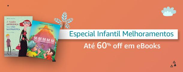 Especial Infantl Melhoramentos: eBooks até 60% off