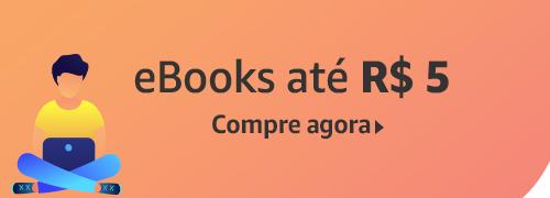 eBooks por até R$ 5