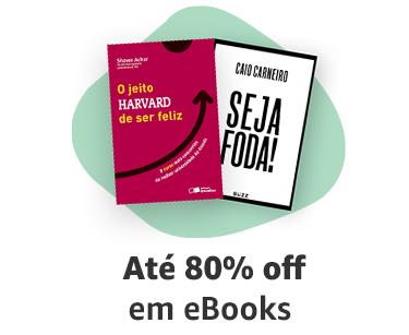 Até 80%off em eBooks