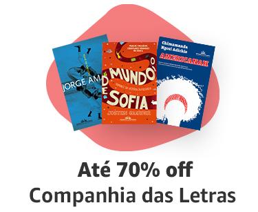 Companhia das Letras até 70% off