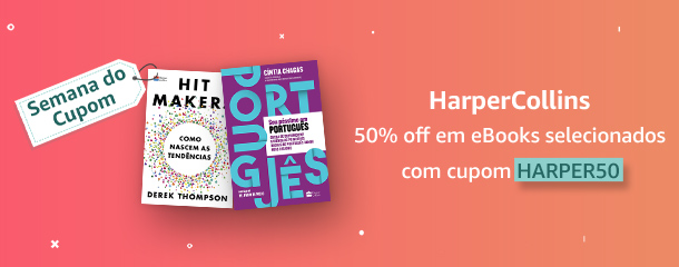 Semana do Cupom: eBooks com 50% off