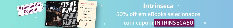 Semana do Cupom: 50% off em eBooks selecionados com o cupom INTRINSECA50