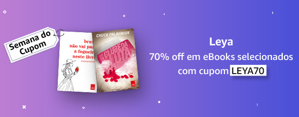Semana do Cupom: eBooks com 70% off