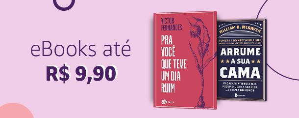 eBooks até R$ 9,90