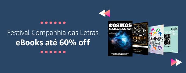 Festival Companhia das Letras: eBooks até 60% off
