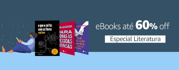 Especial Literatura: eBooks até 70% off