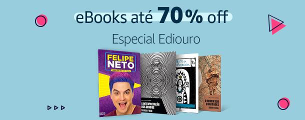 Especial Ediouro: eBooks até 70% off