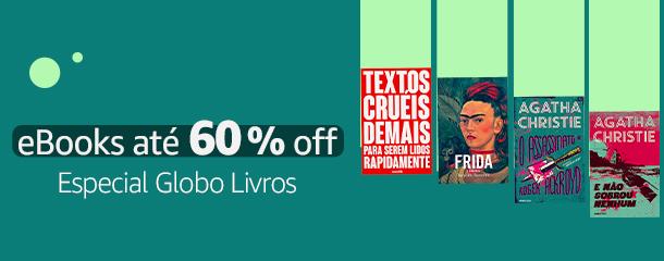 Especial Globo Livros: eBooks até 60% off