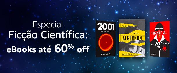 Especial Ficção Científica: eBooks até 60% off