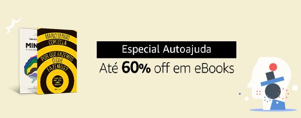 Até 60% off em eBooks de Autoajuda