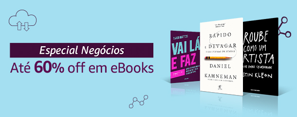 Especial Negócios - eBooks até 60% off