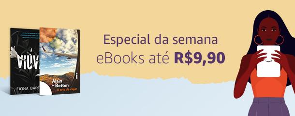 Especial da Semana: eBooks até R$9,90